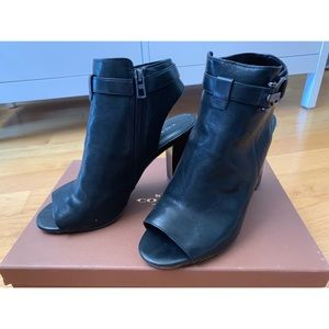 Coach Open Toe Heeled Bootie - Women size 8.5